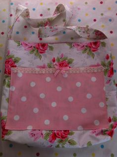 Handmade bag by   patchwork and lace
