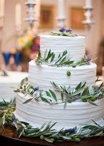 10 Fab Fresh-Flower Wedding Cakes