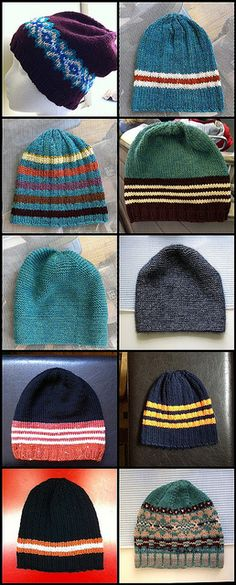 100 hats from stash_1 by hilpalny, via Flickr