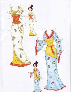 Mulan Paper Doll | Disney Princess Mulan Free Printables, Downloads and Activities | SKGaleana