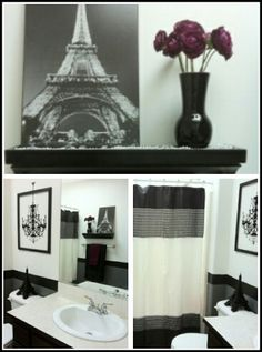 Paris Themed Bathroom