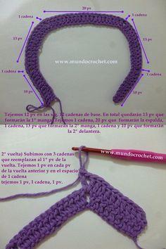 Como-tejer-un-saco-campera-cardigan-o-chambrita-a-crochet-o-ganchillo-desde-el-canesu02.jpg 500×750 pixeles
