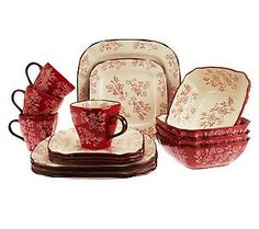 sc 1 st  Pinterest & Home Accents EMILY ROOSTER COOKIE | Dinnerware