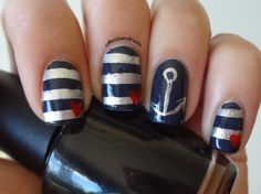 Amy Wedding nails