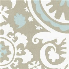 Taupe Towers Fabric by the Yard | Carousel Designs
