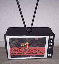 Sinterklaas surprise: TV-testbeeld van knutselidee.nl