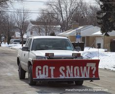 Snowplow Photo: Got Snow?