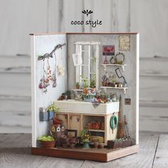 2017. Miniature dollhouse ♡ ♡ By Cocostyle