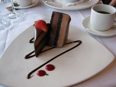 Decadant Chocolate Cake at Seasons in the Park, Vancouver BC