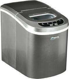 Avalon Bay AB-ICE26S Portable Ice Maker, SilverThe Avalon Bay AB-ICE26S Portable Ice Maker is a portable home ice maker. It's faster and more conve...