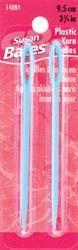 Luxite Plastic Bulky Yarn Needles 3 3/4in