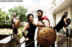 300 cosplay with CosAwesome Studios and Burch Roots Studios #cosawesome #cosawesomestudios #cosplay #300movie #genCon2014