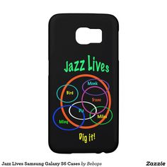 #Jazz Lives Samsung Galaxy S6 Cases @bebopsplace