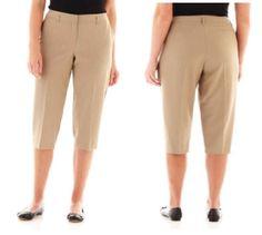 Worthington Modern Stretch Cropped Pants women's Plus size 20W, 24W NEW   16.99 http://www.ebay.com/itm/Worthington-Modern-Stretch-Cropped-Pants-womens-Plus-size-18W-20W-22W-24W-NEW-/251769381878?