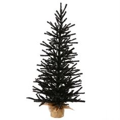 4 Foot Artificial Christmas Twig Tree Item #B113747 This winning tree is an exciting hard-to-find designer spooky black color. Product…
