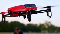 Bebop & Skycontroller flight test over Rugby field