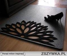 filcowy dywan- zamówienie