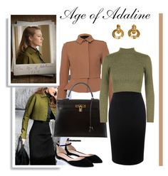 """Age of Adaline Inspiration1"" by sheysstyle ❤ liked on Polyvore featuring Burberry, Alexander McQueen, Hermès, Retrò, WearAll, Gianvito Rossi and Chanel"