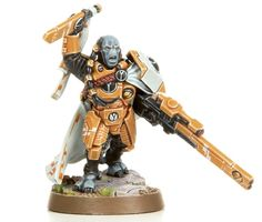 The new Cadre Fireblade. I'm so pumped for these guys. They'll really beef up the Fire Warrior squads. DAT VOLLEY FIRE :D
