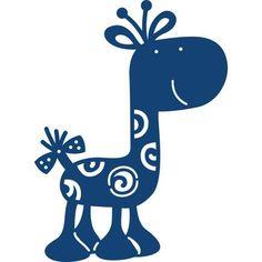 Tattered Lace Giraffe Die