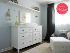 Hemnes dresser in nursery