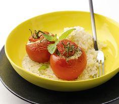 Diese Tomaten entführen einen in die Kräuterwelt des Südens. Und Rosmarin und Oregano ergänzen den scharfen Senf wunderbar.
