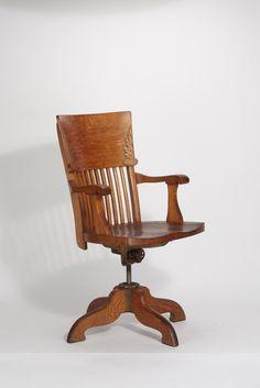 Werksentwurf Johnson Chair Company, Drehstuhl (ca. 1930)