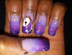 Nail-Art-A-Go-Go: hearts ( key to my heart)