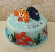 Nemo and Dora novelty cake