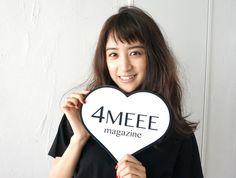 4MEEE magazine撮影レポ#6恐るべし山本美月さんの美女力