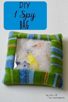 DIY I Spy Bag l The Princess & Her Cowboys