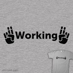 """Working"" 