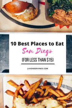 Best Places to Eat in San Diego | Best Food San Diego | Budget travel San Diego | Budget food San Diego | Things to do in San Diego | Hodads | The Crack Shack #sandiego #california #liveauthentic