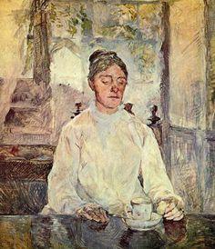 Countess Adele de Toulouse Lautrec - Henri de Toulouse Lautrec