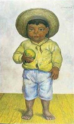 Some of the paintings of mexican artist Diego Rivera Diego Rivera Art, Diego Rivera Frida Kahlo, Frida And Diego, Frida Art, Mexican Artists, Painting Of Girl, Oil Painting Reproductions, Chalk Pastels, Naive Art