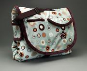 Tady Tote: Swirl Design ~modern baby bag that converts to blanket.  #babygift #babyblanket