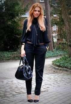 Chic business look