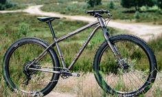 Bombtrack is ready for adventure with steel Beyond Plus trail explorer - Bikerumor 29er Mountain Bikes, Moutain Bike, Mountain Biking, Mtb Bike, Cycling Bikes, Hardtail Mtb, Bike Magazine, 5th Wheels, Bicycle Design