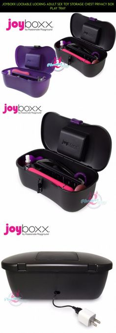 Joyboxx Lockable Locking Adult Sex Toy Storage Chest Privacy Box Play Tray #tray #shopping #racing #technology #storage #kit #gadgets #products #camera #drone #tech #plans #fpv #parts