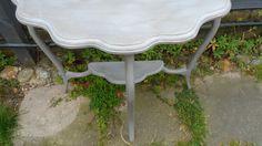 Edwardian semi luna side table. www.at-the-cartshed.co.uk