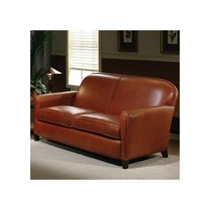 You'll love the Jennifer Leather Loveseat at Wayfair - Great Deals on all Office  products with Free Shipping on most stuff, even the big stuff.
