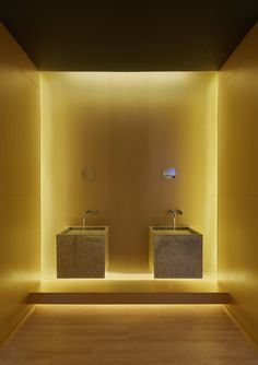 Image 14 of 19 from gallery of Setsugekka Japanese Cuisine / Shanghai Hip-Pop Architectural Decoration Co. Photograph by Jing Zhang Diy Bathroom Remodel, Diy Bathroom Decor, Bath Remodel, Bathroom Renovations, Bathroom Interior, Bathroom Ideas, Toilet Design, Sink Design, Minimalist Bathroom Design