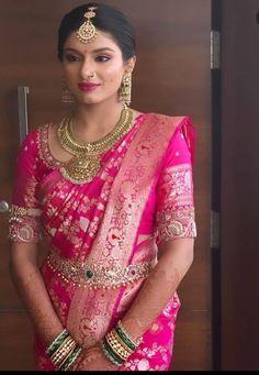 Indian Fashion Trends, Indian Bridal Fashion, Silk Saree Blouse Designs, Bridal Blouse Designs, Gown Dress Party Wear, Engagement Saree, Wedding Saree Collection, Indian Bridal Sarees, Indian Gowns Dresses