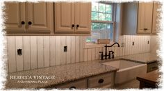 We are pressing on with our kitchen remodel and I'm so happy today to share with you that our back splash is almost done! It's the last ...