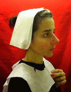 "Nina Katchadourian : ""airplane lavatory self portraits in the flemish style""."