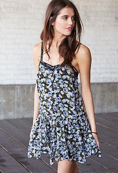 Fantasy Floral Slip Dress    $22.80