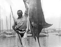 """""""Find what matters to you and hunt it down like Teddy Roosevelt would a wildebeest, or Hemingway would a Marlin."""""""