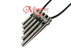 PETER PAN Pan Flute Musical Pipes Necklace – Moonfire Charms