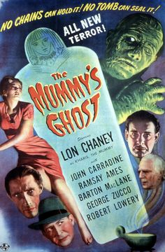 The Mummys Ghost, Lon Chaney Jr., 1944 Fine Art Print