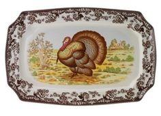 Spode turkey platter